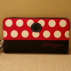 Minnie Rock the dots Wallet